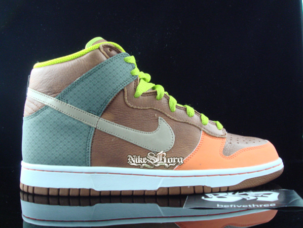 the best attitude 449b4 b956a ... discount nike dunk high brown orange champagne beige 123e9 28f7c