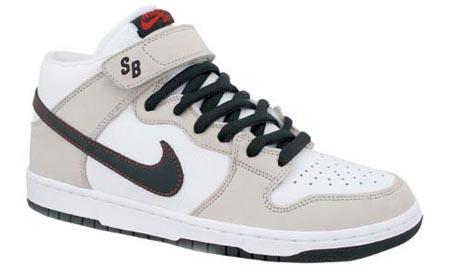 Nike Dunk SB Mid White/Black