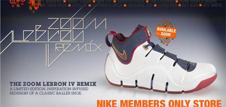 Nike Zoom LeBron Playoffs-Remix on NDC