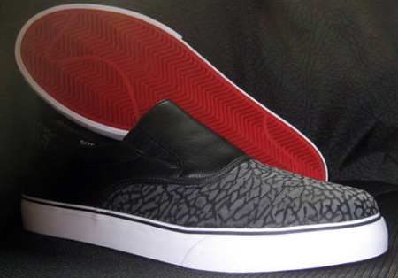 Nike SB Slip-On Cement Print