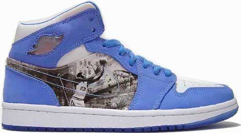 nike jordan 1 light blue