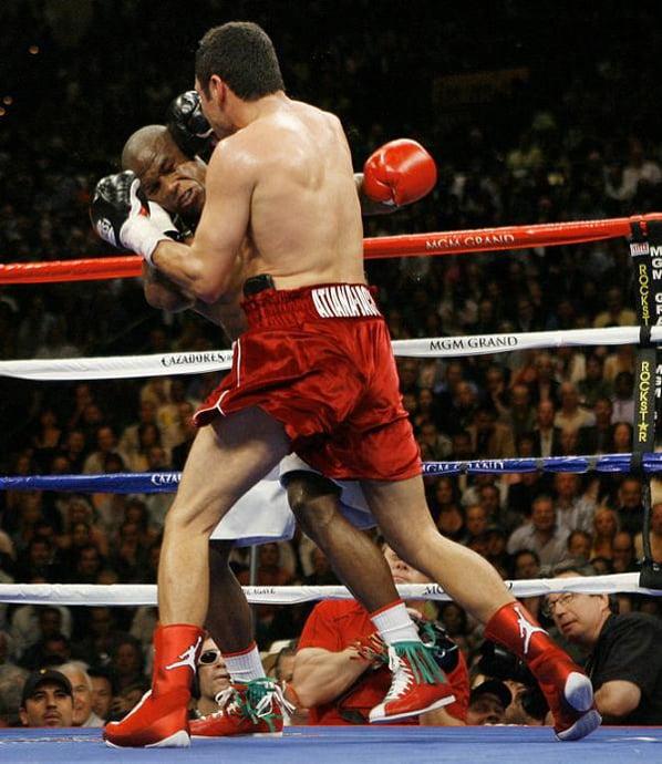 Oscar De La Hoya Air Jordan Boxing Kicks