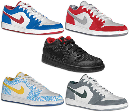 Release Date Reminder: Air Jordan 1 Retro Lows