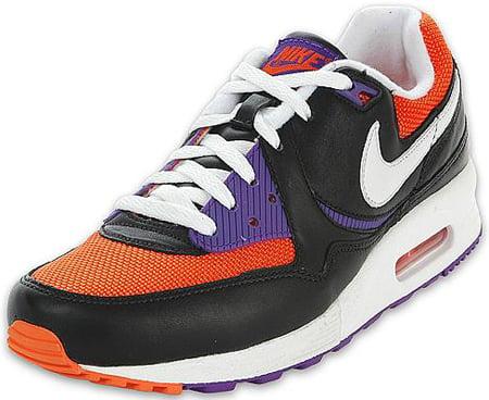 Nike Air Max Light Black/White/Orange Blaze/Purple