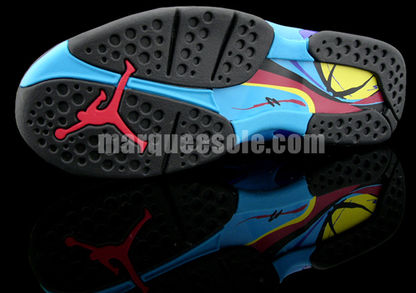 Air Jordan Retro 8 Aqua Final Product