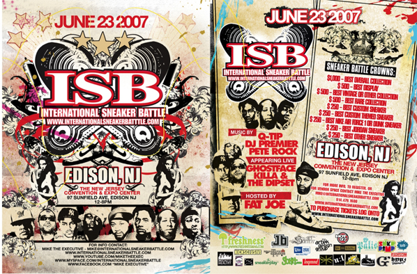 International Sneaker Battle June 23rd
