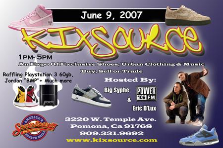 Kixsource Sneaker Event June 9th