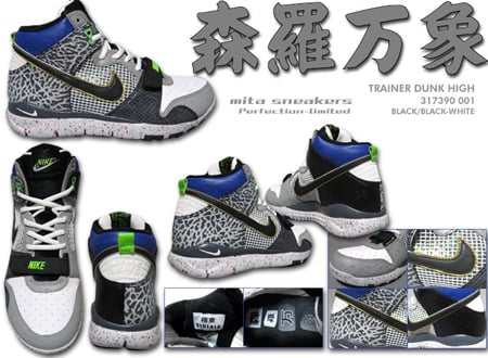 detailed look ca5ff 57d85 Nike Trainer Dunk Free x Mita Detailed Look