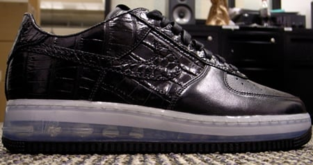 Nike Air Force 1 Full Length Visible Air Unit