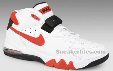 Nike Air Force Max Retro White/Red