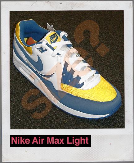 Nike Air Max Light Blue/Yellow/White