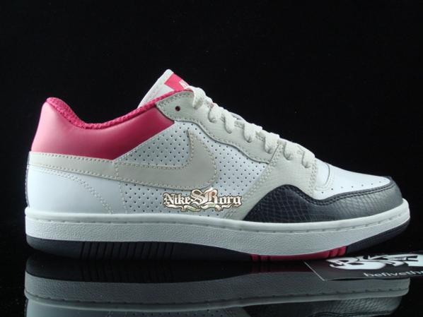 Nike Court Force Low Snake Skin Pack Cerise