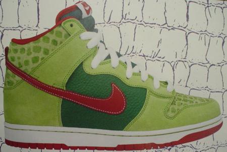 Nike Dunk SB High Croc 2008