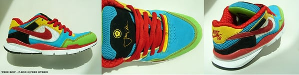 Nike SB P-Rod 2 x Free = Free Rod