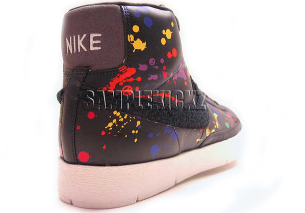 Nike Super Blazer High Indie Splattered Sample