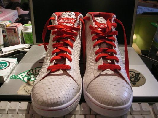 Adidas Snake Skin Stan Smith High