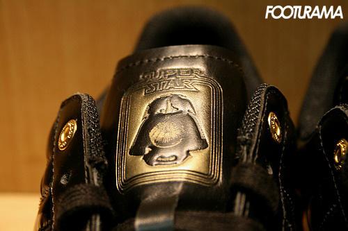 Adidas Superstar Darth Vader