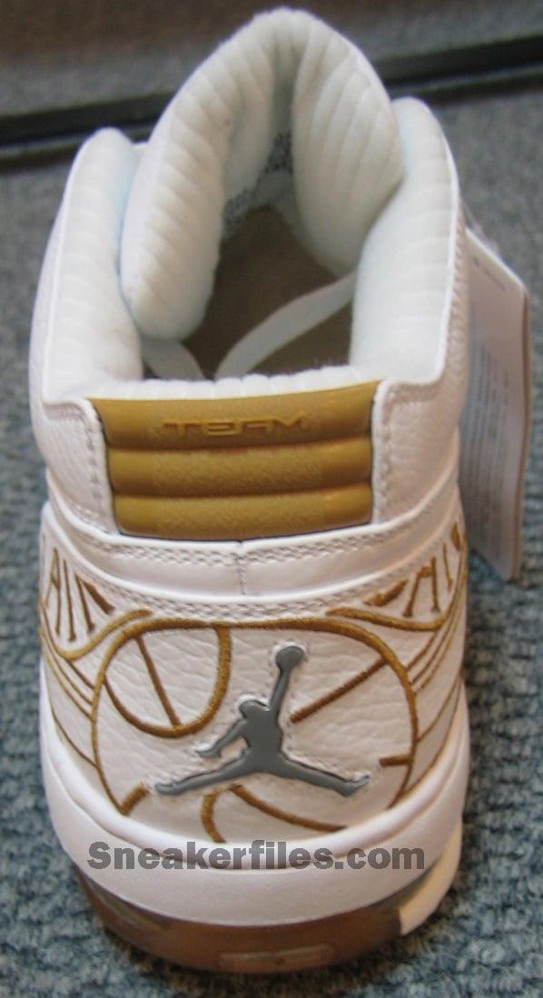 Air Jordan Ol School Low White/Wheat