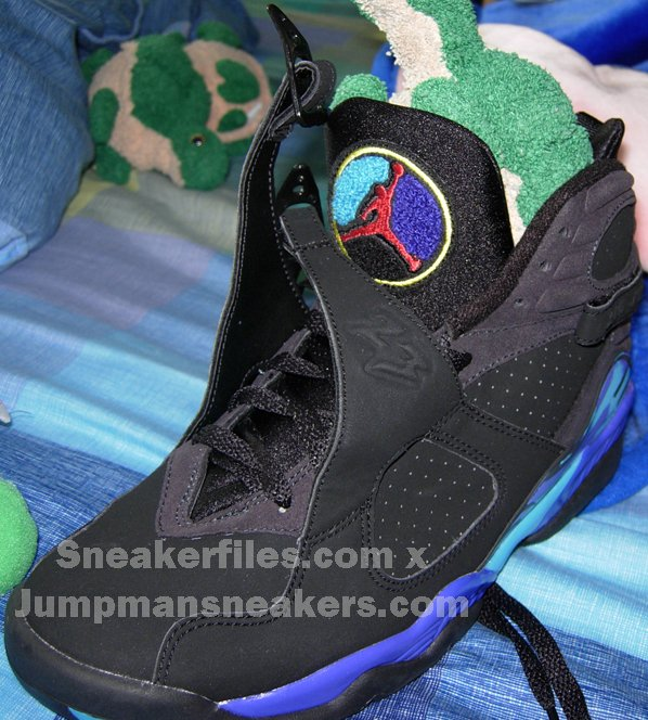 Air Jordan Retro 8 Aqua 2nd Preview