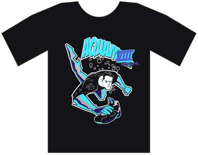 Bobby Fresh Aqua Man T-Shirt