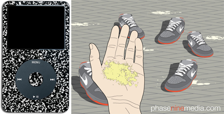 Dunk SB Pigeon Print and New iPod Skin