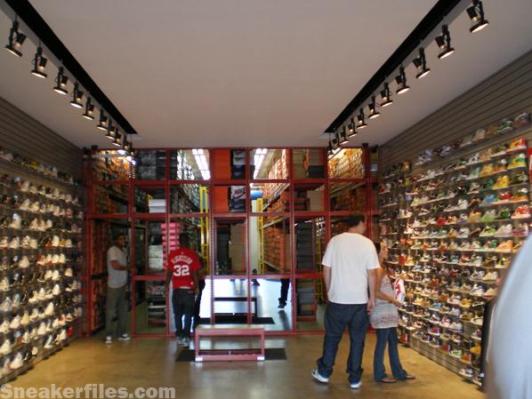 Sneakerfiles Visits Flight Club LA