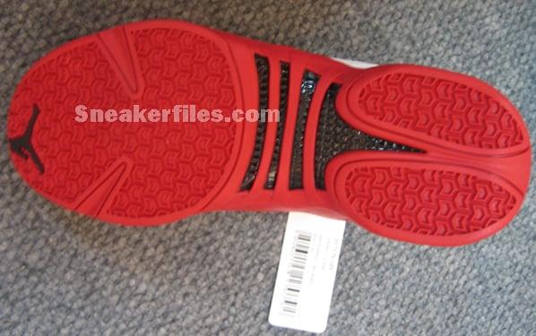Air Jordan 12.5 White/Red Detailed Look