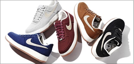 Nike Air Force Ones Canvas Full Preview