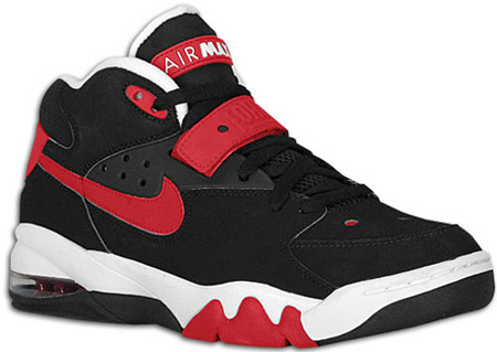 nike air force max black varsity red white 高清图片