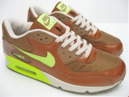 Nike Air Max 90 Umber/Volt Birch