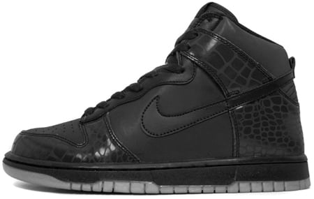 Nike Dunk High LE Reflective Croc