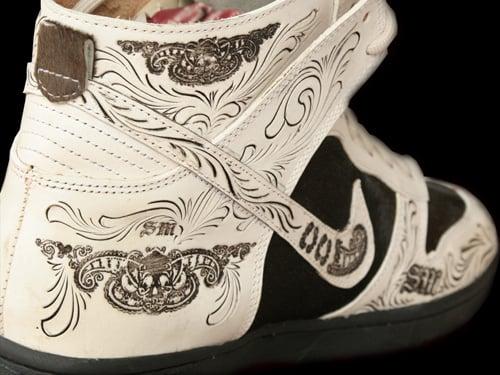 Nike Dunk High Santa Muerte