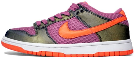 womens nike dunk orange gold