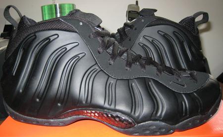 Nike Foamposite One Retro Black Released