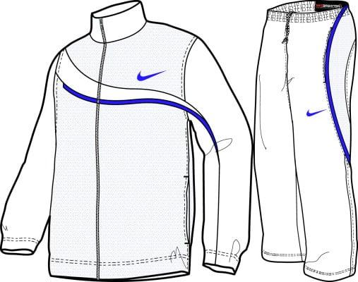Line Drawing Jacket : Nike kobe clothing line sneakerfiles