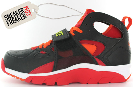 Nike Trainer Huarache Varsity Red/Orange/Lime/Black