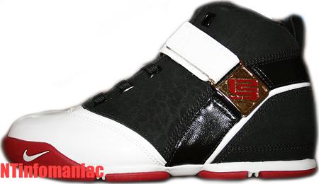 Nike Zoom LeBron 5 White/Black/Red