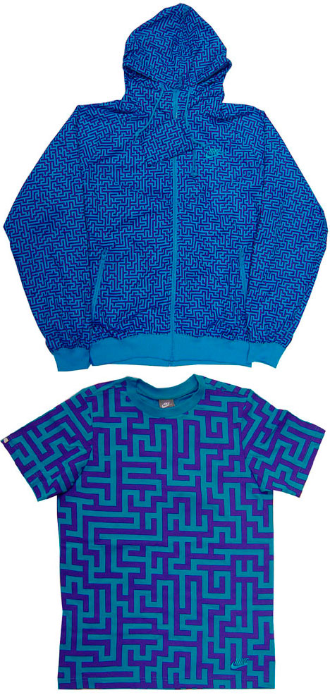 Nike Windrunner and Tee Wood Wood CoLab at Purchaze