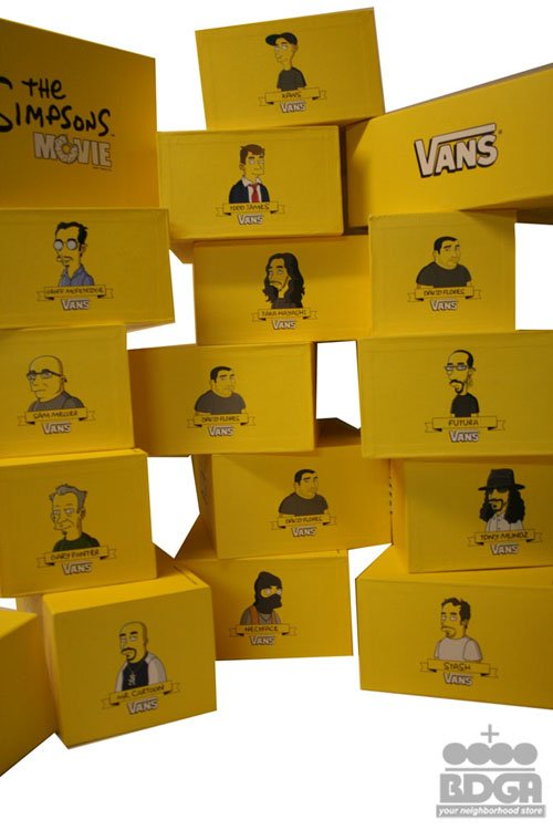 Vans x Simpsons All 14 Releasing