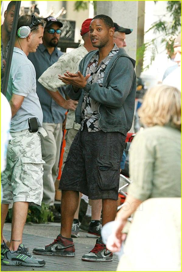 Will Smith in Air Jordan Retro 1 Black Toes