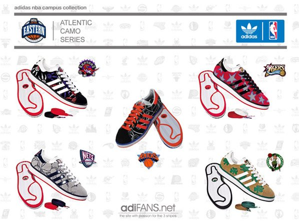Adidas NBA Campus Collection