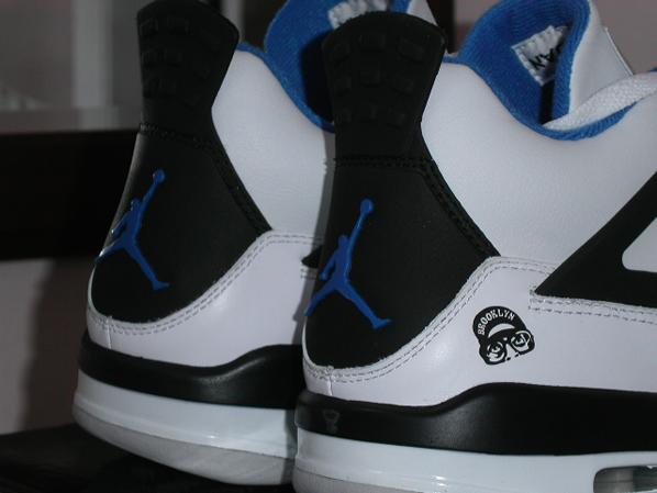 Luft Jordan 4 Mars Blackmon Blå 2RpzdP2
