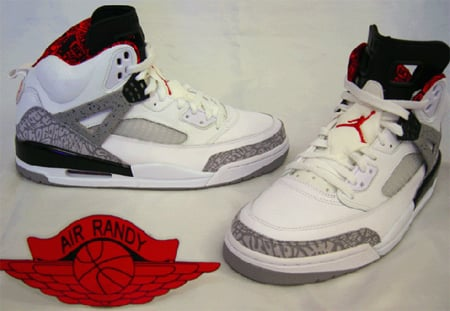 Air Jordan Spizike White/Cement Debut