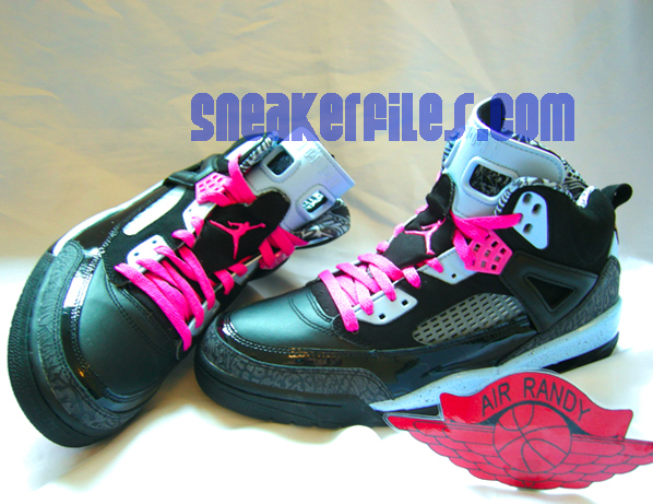Air Jordan Spizike Womens Ice Blue - Pink