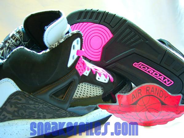 Air Jordan Spizike Womens Ice Blue - Pink