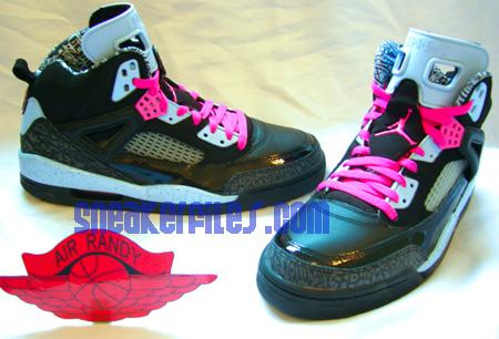 Air Jordan Spizike Womens Ice Blue - Pink  42454917a