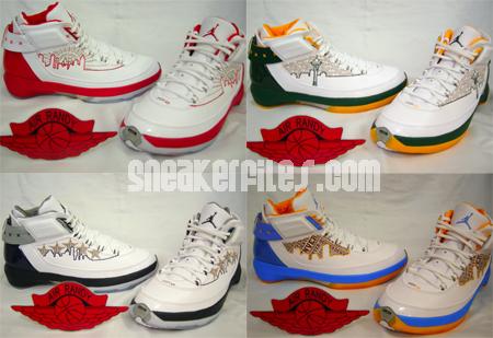 Air Jordan XX2 PE City Series