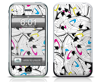 New Apple iPhone Snkrhead and Cement Skin