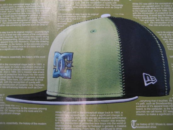 DC Shoes x New Era 20/94 Fall 2007 Preview