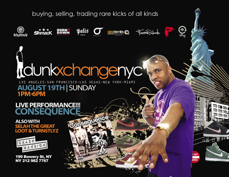 Dunkxchange NYC August 19th 2007